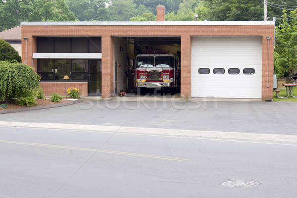 Small Fire Station Stock photo © ArenaCreative