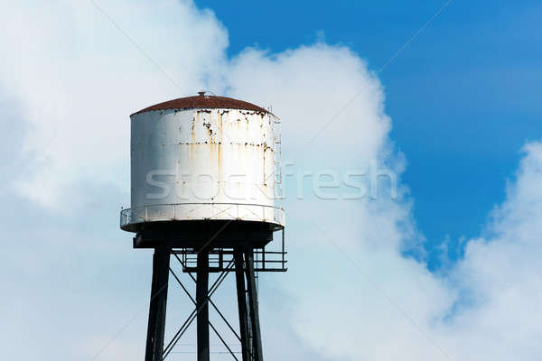 Old and Rusty Water Tower Stock photo © ArenaCreative