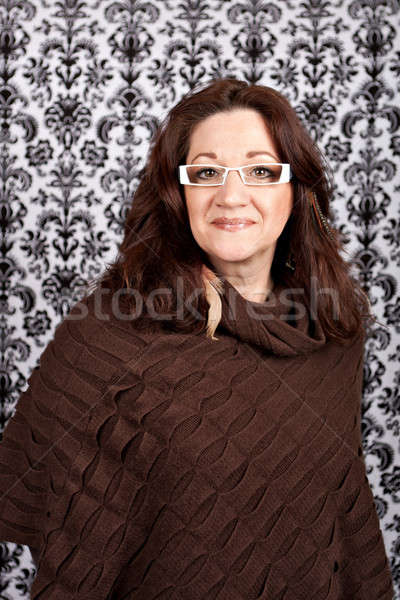 Trendy Middle Aged Woman Stock photo © ArenaCreative