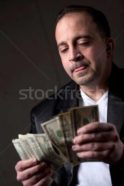 Man Counting Money Stock photo © ArenaCreative