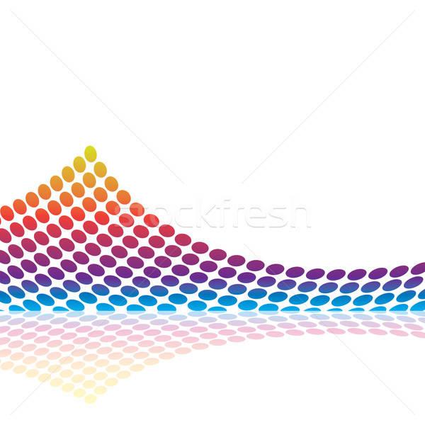Graphic Audio Waveform Stock photo © ArenaCreative