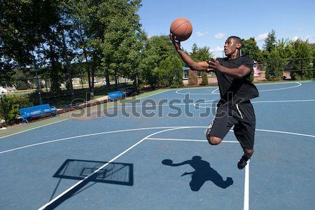 Confident Basketball Player Stock photo © ArenaCreative