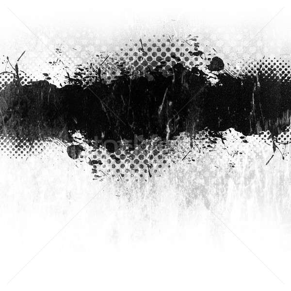 Grunge Paint Splatter Stock photo © ArenaCreative