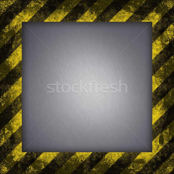 Hazard przekątna tekstury wyblakły Zdjęcia stock © ArenaCreative