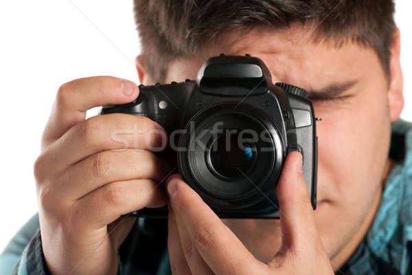 Male Photographer Shooting Stock photo © ArenaCreative