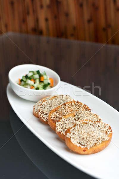 Thai Shrimp Sesame Toasts Stock photo © arenacreative