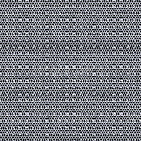 Stretto metal grill pattern texture Foto d'archivio © ArenaCreative