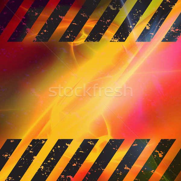 グランジ ハザード テクスチャ 極端な 効果 ストックフォト © ArenaCreative