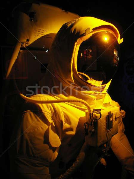 пространстве человека полный астронавт драматический освещение Сток-фото © ArenaCreative