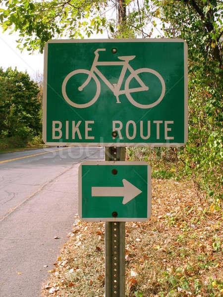 bike route Stock photo © ArenaCreative