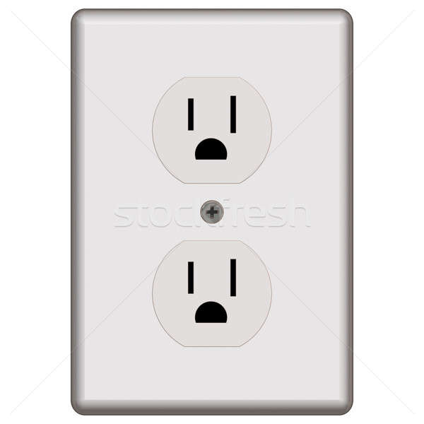 Standard Electrical Outlet Stock photo © ArenaCreative
