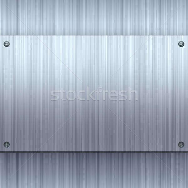 Shiny Brushed Aluminum Stock photo © ArenaCreative