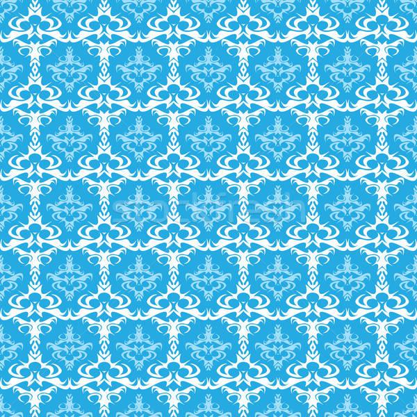 Fara sudura vector damasc model textură format Imagine de stoc © ArenaCreative