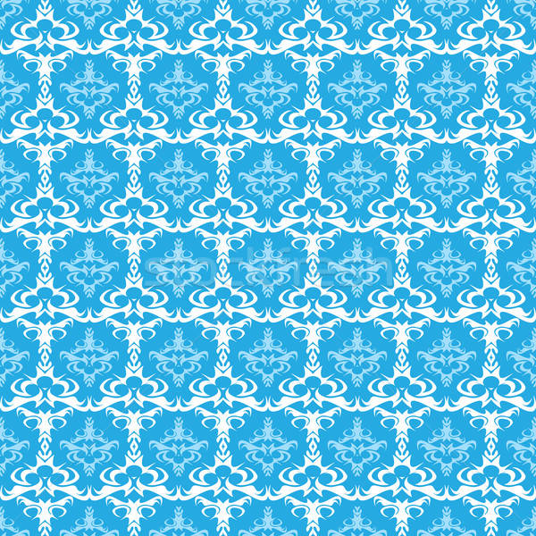 Seamless Vector Damask Pattern  Stock photo © ArenaCreative