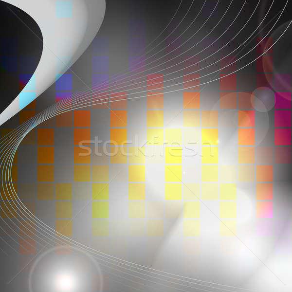 Digital Graphic Equalizer Stock photo © ArenaCreative