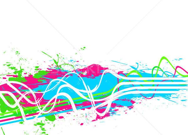 Splattered Paint Background Stock photo © ArenaCreative