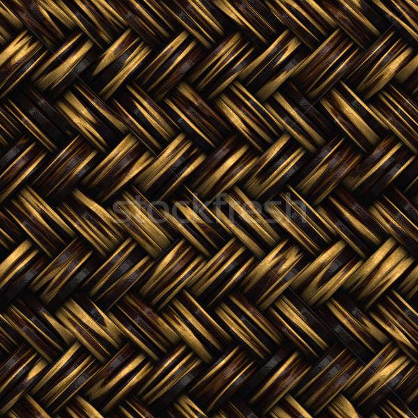 Wicker Pattern Stock photo © ArenaCreative