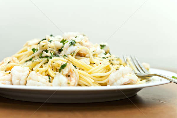 Italian Seafood Pasta Stock photo © ArenaCreative