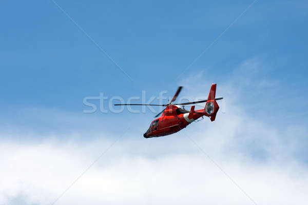 Red Helicopter Stock photo © ArenaCreative