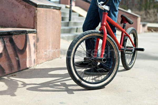 BMX Bike Rider Stock photo © arenacreative