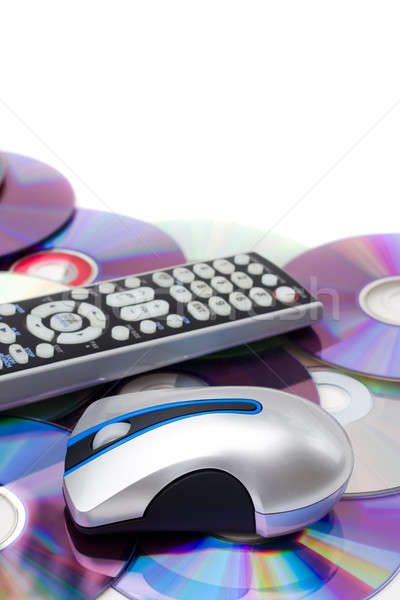 Home Theatre Montage Stock photo © ArenaCreative