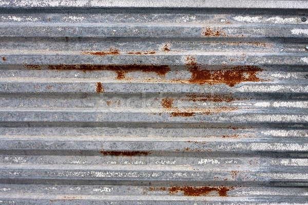 Corrugated Metal Texture Stock photo © ArenaCreative