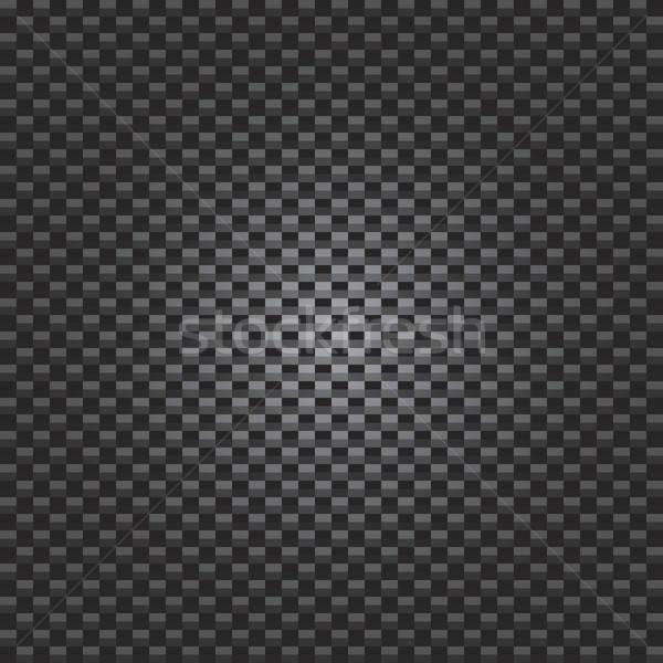 Fibra di carbonio texture illuminazione vettore formato design Foto d'archivio © ArenaCreative