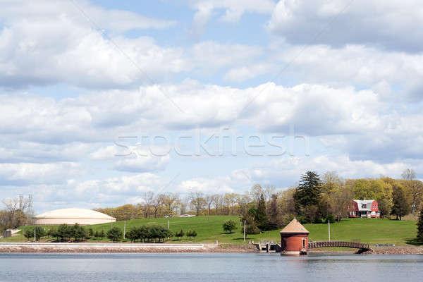 водохранилище мнение воды новых города Сток-фото © ArenaCreative