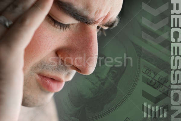 Stock photo: Recession Stress