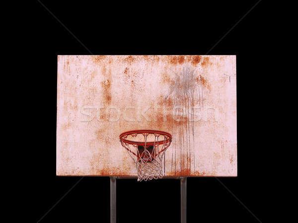 Isolated Basketball Hoop Stock photo © ArenaCreative
