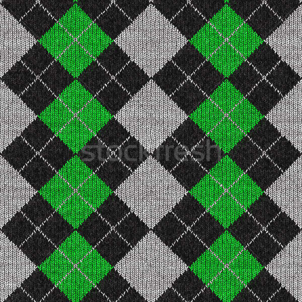 Argyle Pattern Stock photo © ArenaCreative