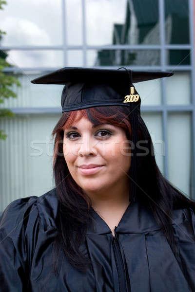Stock photo: Young Woman Graduating