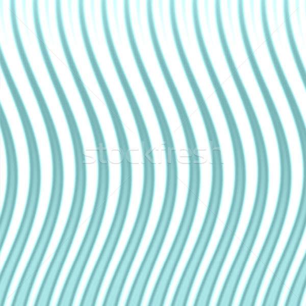 Wavy Blue Lines Stock photo © ArenaCreative