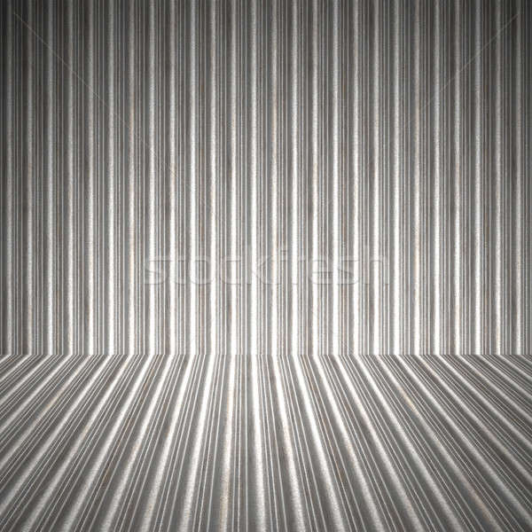 Corrugated Metal Interior Stock photo © ArenaCreative