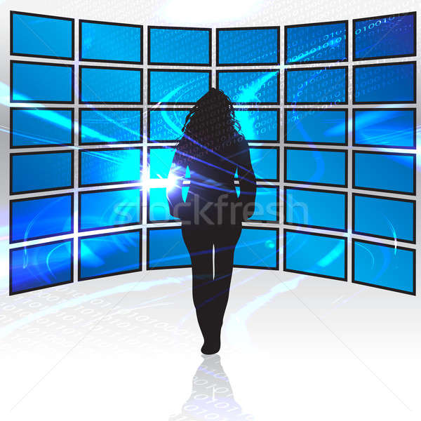 World of Digital Media Stock photo © ArenaCreative