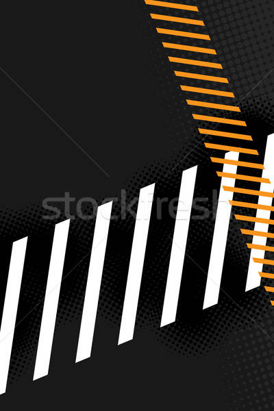 Hazard Stripes Layout Stock photo © ArenaCreative