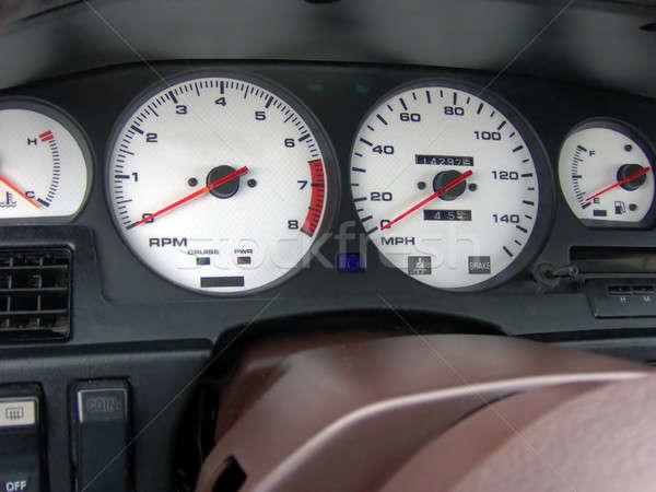 Cockpit gewoonte mijn snelheid Stockfoto © ArenaCreative