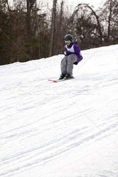 Youth Freestyle Skiing Stock photo © ArenaCreative