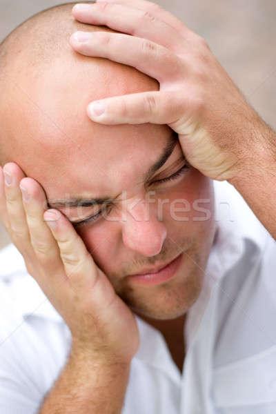 Man In Pain Stock photo © ArenaCreative