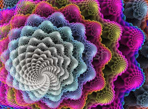 Abstract Fractal Vortex Stock photo © ArenaCreative