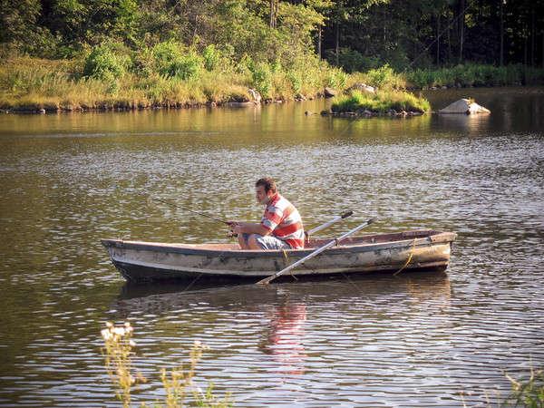 fishing boat Stock photo © ArenaCreative