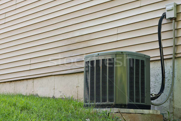 Residential Central Air Conditioner Unit Stock photo © ArenaCreative