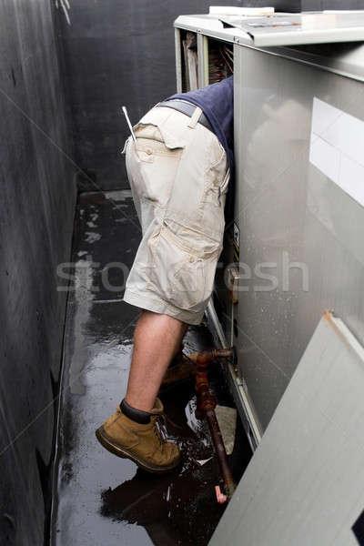 HVAC Repair Technician Stock photo © ArenaCreative