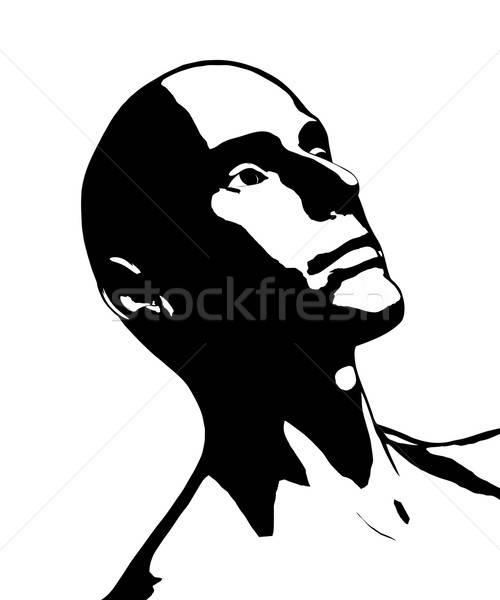 Bald Man Stock photo © ArenaCreative