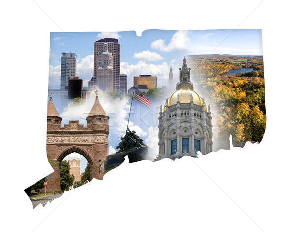 Connecticut Collage Stock photo © ArenaCreative