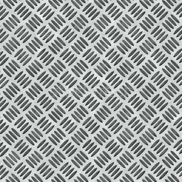 Diamond Plate Bumped Metal Stock photo © ArenaCreative