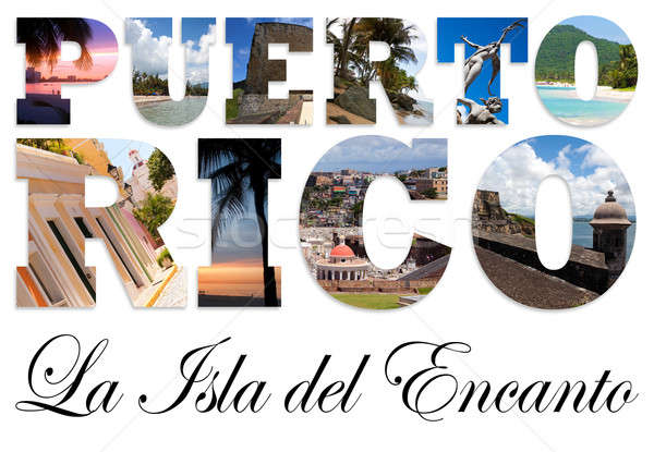 Puerto Rico Collage Stock photo © ArenaCreative