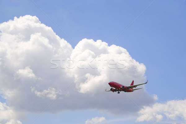 Commercial Jet Stock photo © ArenaCreative