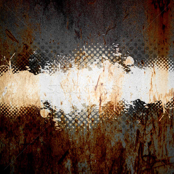 Splatter modello abstract vernice texture Foto d'archivio © ArenaCreative