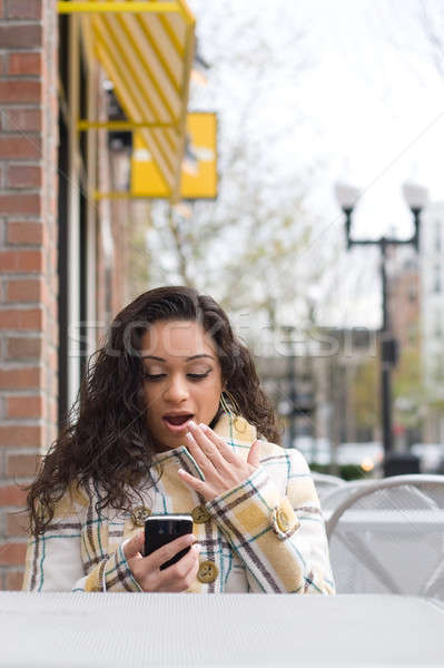 Surprising Text Message Stock photo © ArenaCreative